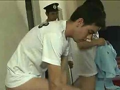 Prison guard examines the asses of young convicts, Added: 2012-12-15, Duration: 1:50