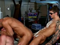 The Long Cock of the Law - Rod Daily,Tyler Torro and Andrew Stark, Added: 2012-12-18, Duration: 1:59