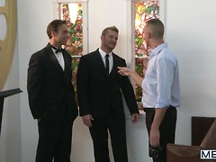 My Bride's Hot Brother - Str8 to Gay - Rocco Reed & Landon Conrad, Added: 2013-01-06, Duration: 1:27