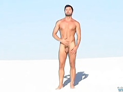 Jerking In The Sand With Dominic - Dominic Pacifico, Added: 2013-06-20, Duration: 2:45