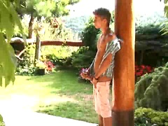 Jack Harrer plays with his big cock, Added: 2011-11-12, Duration: 1:07