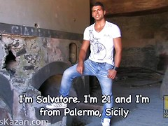 21yo guy from Italy - Salvatore, Added: 2013-11-26, Duration: 0:53