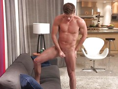 Stephen strokes his cock, Added: 2014-05-20, Duration: 1:09