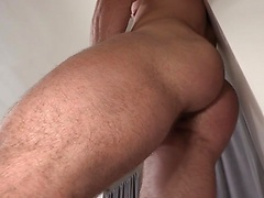 American stud Caden strokes his muscled cock, Added: 2014-12-02, Duration: 1:13