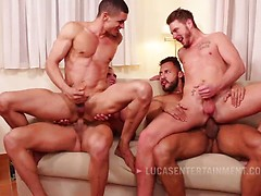 Ibrahim Moreno Takes On Three Uncut Cocks, Added: 2016-11-28, Duration: 0:39