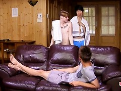 Handsome young Jake is so easily seduced into a threesome with Skyler and Daniel, Added: 2016-12-26, Duration: 10:03